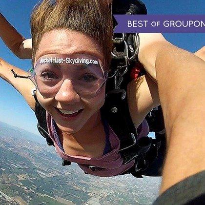 加州Skydive Coastal California 跳伞
