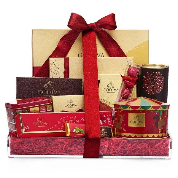 巧克力假日礼品篮