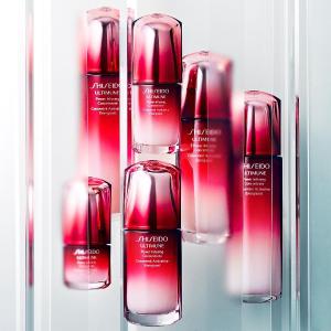 最高送价值$191好礼Shiseido官网 当红花旦红腰子精华热卖 提高肌肤免疫