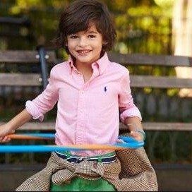 低至4折 短袖衬衫$20开学季:Ralph Lauren 超帅童装热卖 收经典格子衬衫
