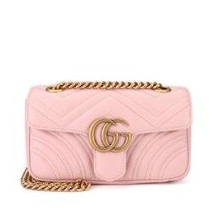 Gucci官网定价$2100GG Marmont 链条包