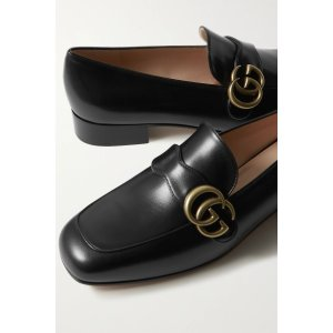 GucciMarmont logo-embellished leather loafers