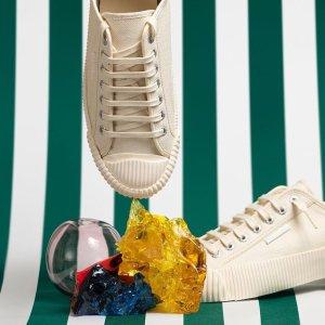 直接6折 €35收经典小白鞋Superga 意大利百年品牌 真正的国民小白鞋 凯特王妃都在穿