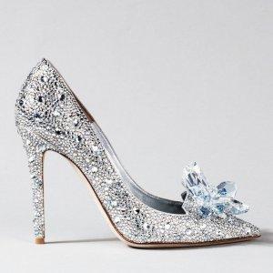低至4折 £238收亮片平底鞋Jimmy Choo 美鞋专场热卖 经典款全线补货打折 仙女冲呀