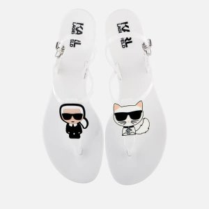 Karl Lagerfeld老佛爷凉鞋