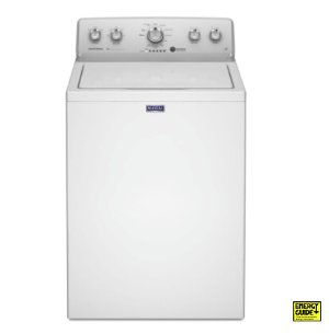 $196Maytag 3.6-cu ft High-Efficiency Top-Load Washer (White) - While Supplies Last