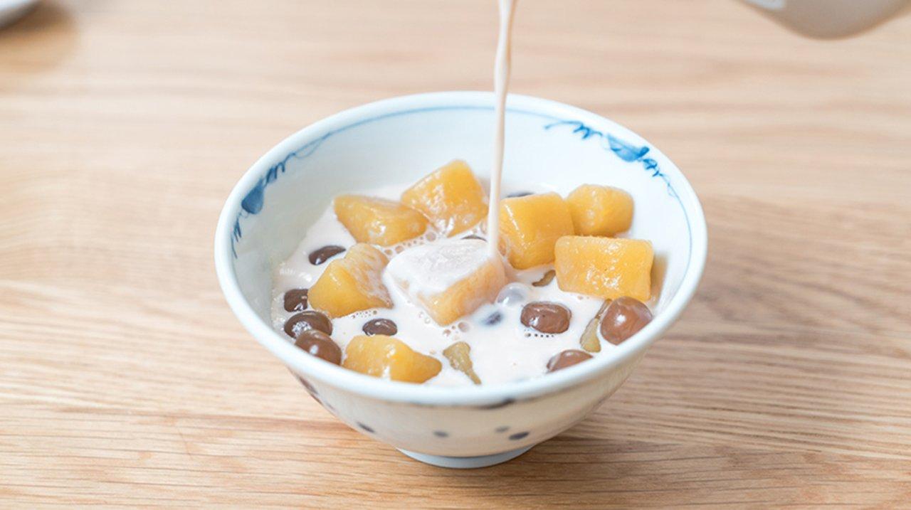 用英亚就能买到的食材,自制Q弹软糯的❤️爱心芋圆,比外面卖的好吃百倍!