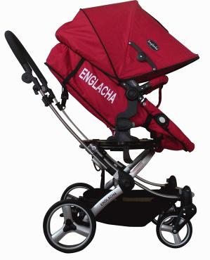 $186.12(原价$614.85)Englacha 婴儿推车 红色款