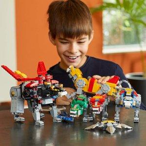 $183.89(原价$229.49)Lego 战神金刚 熊孩子最爱的百兽王 2321pcs