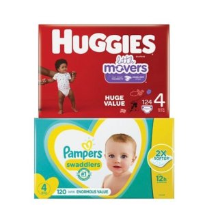 Buy $75 Get $15 Gift CardTarget Kids Disposable Diapers & Training Pants Sale