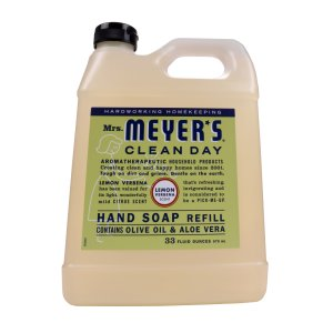 $5Mrs. Meyer's 梅耶太太天然洗手液 柠檬马鞭草香33 oz