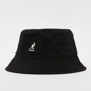 Kangol经典黑色春夏渔夫帽