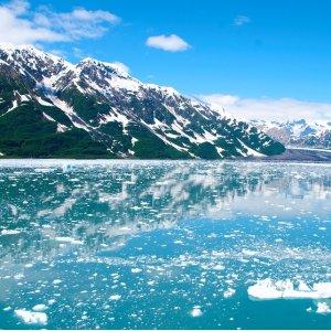 $729起  ??恐炫?凯奇坎+锡特卡+维多利亚阿拉斯加7天冰川游轮 西雅图往返