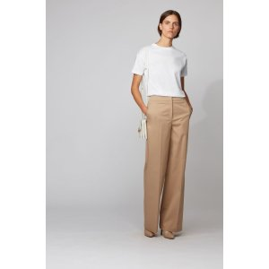 Hugo BossRelaxed-fit T-shirt in mercerized cotton by boss Relaxed-fit pants in washed stretch cotton by boss