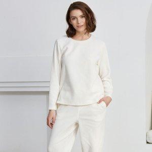 新品闪购$19.99独家:Eve's Temptation 泰迪熊家居服专场,毛绒绒一套可爱舒适又保暖