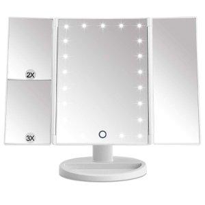 $15.29(原价$20.99)闪购:EMOCCI LED化妆镜7.3折热卖