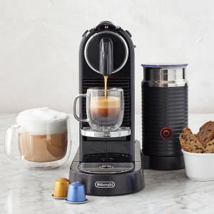 $220包邮(原价$339)Nespresso 德龙联名胶囊咖啡机、奶泡机组合 获红点奖
