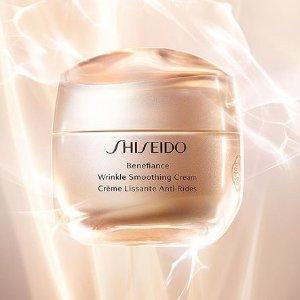 最高赠价值$169好礼Shiseido官网 新款盼丽风姿系列热卖 收大热眼霜