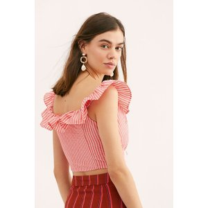 Free PeopleYoung Love Striped Top