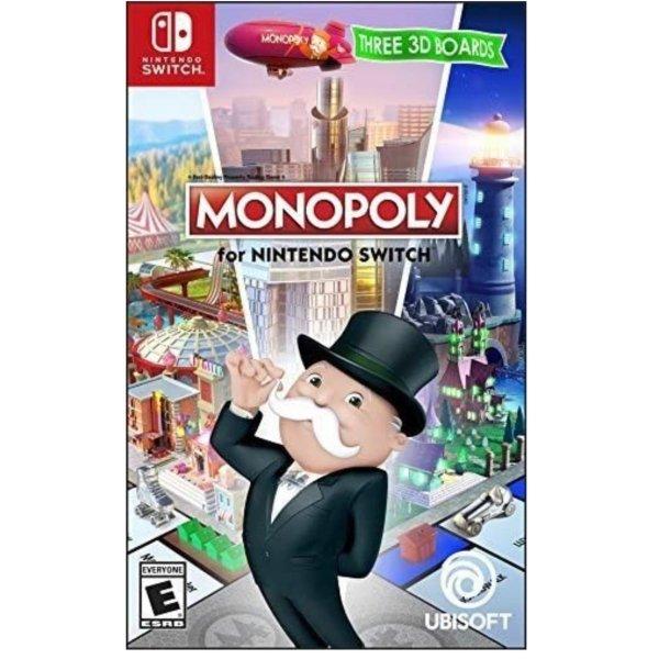 《大富翁》Switch 实体版 聚会必备玩物