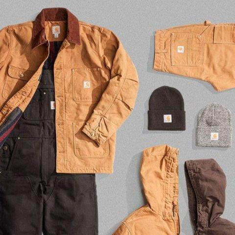 低至5折 卫衣£35 工装£45 持续断货 速收Carhartt 精选大促 酷盖必备潮牌 收超火工装、卫衣、棒球帽