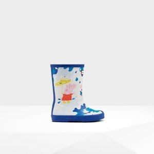 HunterKids First Peppa Pig Muddy Puddles Rain Boots