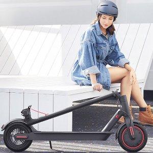 低至8.5折 €339收30km续航版黑五价:Xiaomi 小米米家电动滑板车 可合法上路 短途通勤神器