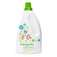 BabyGanics 3倍超浓缩婴儿洗衣液,无味,60oz