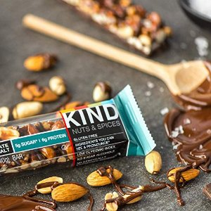 $13.51KIND Bars, Dark Chocolate Nuts & Sea Salt, Gluten Free