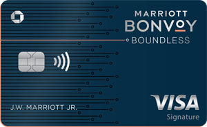 Earn 100,000 Bonus PointsMarriott Bonvoy Boundless™ Credit Card