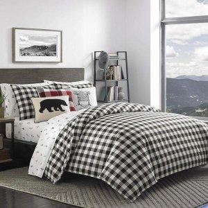 低至7折+额外9折Eddie Bauer 时尚床品套装热卖 百年品质好价收