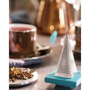 Tea Forte Icon Lusso Platinum Tea Infuser