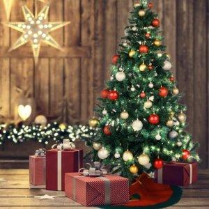 DIY装扮你的专属圣诞树吧Amazon 圣诞树热卖 提前选一棵抱回家 生活要有仪式感