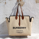 无门槛75折 £202收经典格纹上衣Burberry 全场大促 经典格纹风衣、T恤、卫衣、包包都有