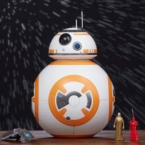 $46.34原价$249.97)比黑五低:Star Wars 星球大战 BB-8 二合一 机器人大型组合玩具