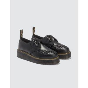 Dr. Martens厚底编织乐福鞋