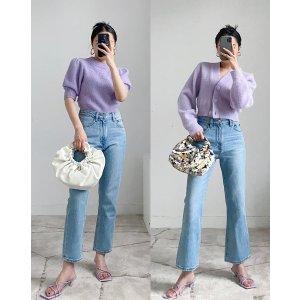 Mango香芋紫凉鞋