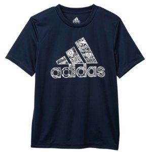 $7.97起adidas 儿童运动服饰优惠 有大码成人也能穿