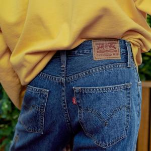低至5折+满额送礼卡闪购:Levi's 精选牛仔裤、服饰大促