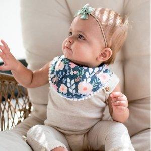 8折 欧美妈咪强力推荐Copper Pearl 口水巾,包巾,浴巾等高品质婴幼儿产品促销