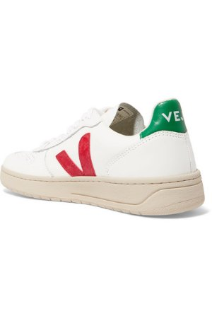 Veja | V-10 leather sneakers | NET-A-PORTER.COM