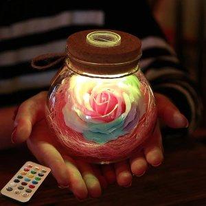 Rose Light Bottle from Apollo Box