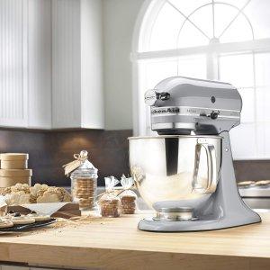 $399.99(原价$599.99)手慢无:KitchenAid Artisan Design名厨系列 5Qt多功能厨师机