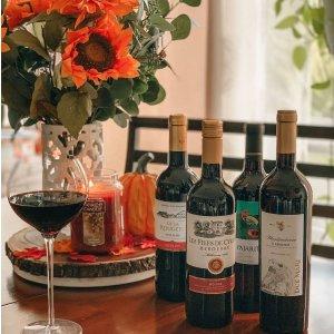 低至6.4折+额外全场7折独家:Wine Insiders 梅鹿辄等红葡萄酒热卖,黑皮诺$7收