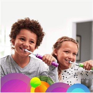 €21.99(原价€52.99)欧乐-B 青少年电动牙刷 特价 从小培养爱刷牙的好习惯
