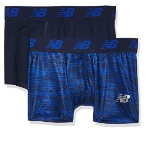 2件套 $9.98 冰点价New Balance Premium Performance 3 男士平角裤