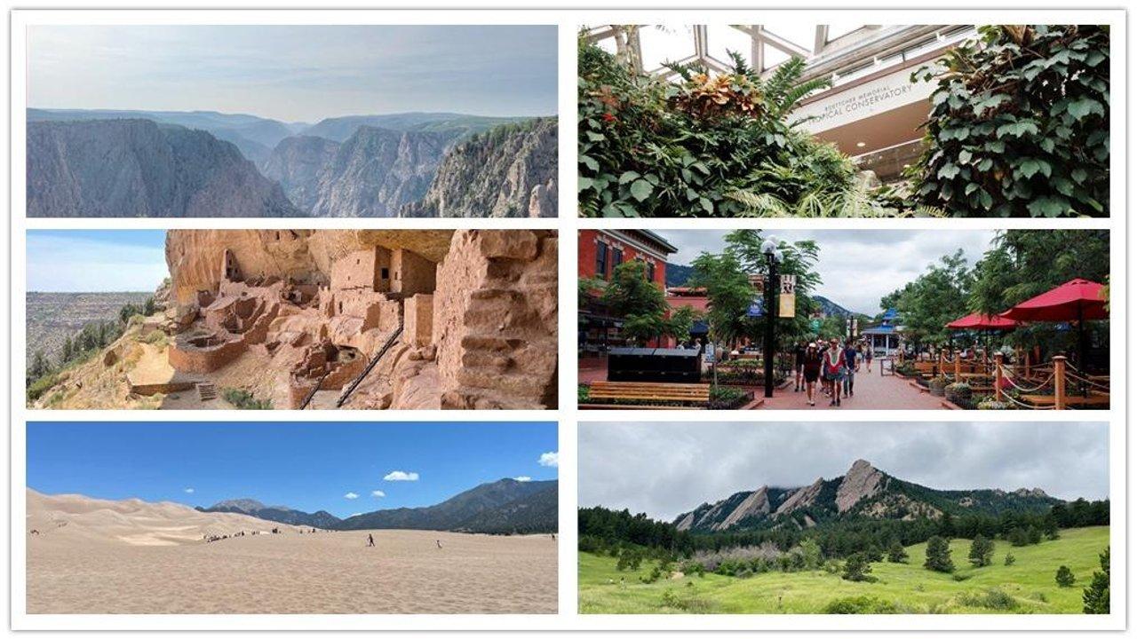科州传奇   【5天】科罗拉多州【黑峡谷+梅萨维德+大沙丘】国家公园游记 + Denver/丹佛 + Boulder/博尔德