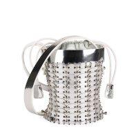 Paco Rabanne 14#01 Chain-Link Mini 篮子包