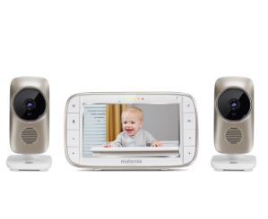$199.99(原价$299.99)Motorola 婴儿监视器 /双摄像头无线监视系统