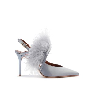 Agnes羽毛高跟鞋 85mm